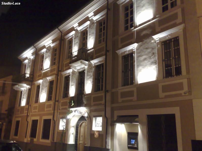 Illuminazione esterna facciate illuminazione del bagno e della